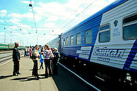 """All Aboard!  This version of the Trans-Siberian Railway is the """"Baikal"""" which runs between Irkutsk, Siberia  (""""The Paris of Siberia"""") and Moscow.  The Baikal is preferable to """"The Rossiya"""" as it has a shower compartment which comes in handy.  As the trip takes three nights and four days, a shower is a nice thing to have for your comfort, not to mention the olfactory comfort of your fellow passengers."""
