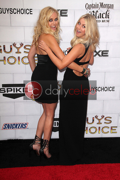 Malin Akerman, Julianne Hough<br /> at Spike TV's 2012 &quot;Guys Choice&quot; Awards, Sony Studios, Culver City, CA 06-02-12<br /> David Edwards/DailyCeleb.com 818-249-4998