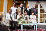 """The cast at """"Usted puede ser un asesino"""" Theater play in Muñoz Seca Theater, Madrid, Spain, September 07, 2015. <br /> (ALTERPHOTOS/BorjaB.Hojas)"""