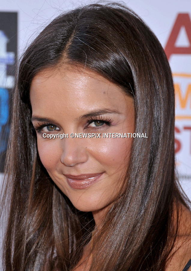 "KATIE HOLMES.attends the Los Angeles Premiere of ""Don't Be Afraid Of The Dark"" at the Regal Cinemas L.A. Live Stadium 14 Theatres, Los Angeles, California_26/06/2011.Mandatory Photo Credit: ©Crosby/Newspix International. .**ALL FEES PAYABLE TO: ""NEWSPIX INTERNATIONAL""**..PHOTO CREDIT MANDATORY!!: NEWSPIX INTERNATIONAL(Failure to credit will incur a surcharge of 100% of reproduction fees).IMMEDIATE CONFIRMATION OF USAGE REQUIRED:.Newspix International, 31 Chinnery Hill, Bishop's Stortford, ENGLAND CM23 3PS.Tel:+441279 324672  ; Fax: +441279656877.Mobile:  0777568 1153.e-mail: info@newspixinternational.co.uk"