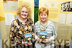 "Caitríona Uí Churráin and Nóirín DeBarra from Tralee attending the signing of Úna-Minh Kavanagh signing her new book ""Anseo"" in the Tralee Library."