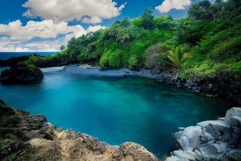 Venus Pool. Hana, Hawaii
