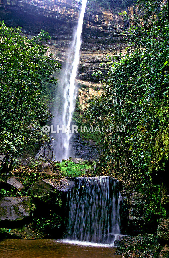 Cachoeira Bica do Ipu, Serra de Ibiapaba. Ceará. 2006. Foto de Vinicius Romanini.