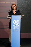 Vice President Soraya Saenz de Santamaria during the 80th Aniversary of the National Basketball Team at Melia Castilla Hotel, Spain, September 01, 2015. <br /> (ALTERPHOTOS/BorjaB.Hojas) / NortePhoto.Com