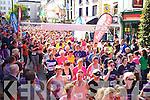 The start of the Killarney Women's Mini Marathon on Saturday last.
