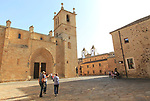 Concatedral and Plaza de Santa Maria, medieval old town, Caceres, Extremadura, Spain