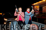 Julie Gleeson (Chairperson) and Mary O'Hanlon  celebrating Listowel Tidy Town overall winners and Ireland's Tidiest Small Town. on Monday night.