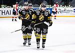 Stockholm 2014-01-08 Ishockey SHL AIK - Lule&aring; HF :  <br />  AIK:s Oscar Steen och AIK:s Victor Ahlstr&ouml;m deppar<br /> (Foto: Kenta J&ouml;nsson) Nyckelord:  depp besviken besvikelse sorg ledsen deppig nedst&auml;md uppgiven sad disappointment disappointed dejected
