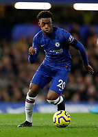 30th November 2019; Stamford Bridge, London, England; English Premier League Football, Chelsea versus West Ham United; Callum Hudson-Odoi of Chelsea - Strictly Editorial Use Only. No use with unauthorized audio, video, data, fixture lists, club/league logos or 'live' services. Online in-match use limited to 120 images, no video emulation. No use in betting, games or single club/league/player publications