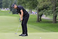 Thomas Pieters (BEL) putts on the 9th green during Sunday's Final Round of the WGC Bridgestone Invitational 2017 held at Firestone Country Club, Akron, USA. 6th August 2017.<br /> Picture: Eoin Clarke | Golffile<br /> <br /> <br /> All photos usage must carry mandatory copyright credit (&copy; Golffile | Eoin Clarke)