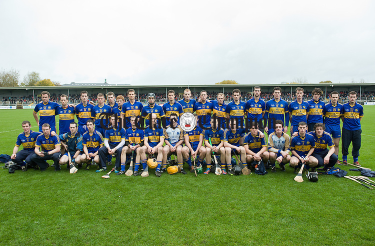 The Newmarket team before the senior county hurling final at Cusack Park. Photograph by John Kelly.