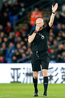 Referee, Lee Mason during the EPL - Premier League match between Crystal Palace and Watford at Selhurst Park, London, England on 12 December 2017. Photo by Carlton Myrie / PRiME Media Images.