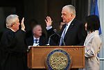 Hundreds gather to see Nevada Gov. Steve Sisolak take the oath of office in a ceremony at the Capitol, in Carson City, Nev., on Monday, Jan. 7, 2019. (Cathleen Allison/Las Vegas Review-Journal)