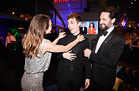 BEVERLY HILLS - JANUARY 6: (L-R) Keri Russell, Keidrich Sellati and Matthew Rhys attend the 2019 Fox Nominee Party for the 76th Annual Golden Globe Awards at the Fox Terrace on the Roof Deck of the Beverly Hilton on January 6, 2019, in Beverly Hills, California. (Photo by Frank Micelotta/Fox/PictureGroup)