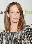 BEVERLY HILLS, CA - MARCH 15: Sarah Paulson arrives at the 30th Annual PaleyFest: The William S. Paley Television Festival - Closing Night Presentation honoring 'American Horror Story' at the Saban Theatre on March 15, 2013 in Beverly Hills, California.