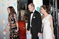 LONDON, UK - FEBRUARY 10: Duke of Cambridge and Duchess of Cambridge at the 72nd British Academy Film Awards held at Albert Hall on February 10, 2019 in London, United Kingdom. Photo: imageSPACE/MediaPunch<br /> CAP/MPI/IS<br /> ©IS/MPI/Capital Pictures