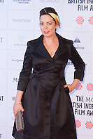 Olivia Coleman arriving for the Moet British Independent Film Awards 2014, London. 07/12/2014 Picture by: Alexandra Glen / Featureflash
