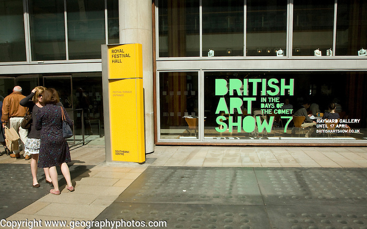 British Art Show 7, In the days of the comet, Hayward gallery,  Royal Festival Hall, London