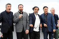 CANNES, FRANCE - MAY 14: (L-R) Jury Members Robin Campillo, Enki Bilal, President of the Main competition jury Alejandro Gonzalez Inarritu, Jury Members Yorgos Lanthimos and Pawel Pawlikowski attend the Jury photocall during the 72nd annual Cannes Film Festival on May 14, 2019 in Cannes, France. <br /> Steve Wood © Copyright *** Local Caption *** Steve Wood © Copyright<br /> Cannes film Festival 2019<br /> <br /> <br /> <br /> <br /> <br /> CAP/GOL<br /> ©GOL/Capital Pictures
