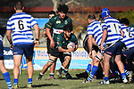 NELSON, NEW ZEALAND - JUNE 29: Division 2 Rugby - Huia v Riwaka at Sport Park, Motueka. 29 June 2019 in Motueka, New Zealand. (Photo by Chris Symes/Shuttersport Limited)