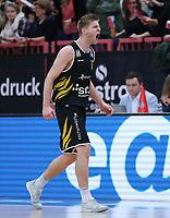 Basketball  1. Bundesliga  2017/2018  Hauptrunde  14. Spieltag  23.12.2017 Walter Tigers Tuebingen - Basketball Laewen Braunschweig JUBEL Mathis Moenninghoff (Tigers)