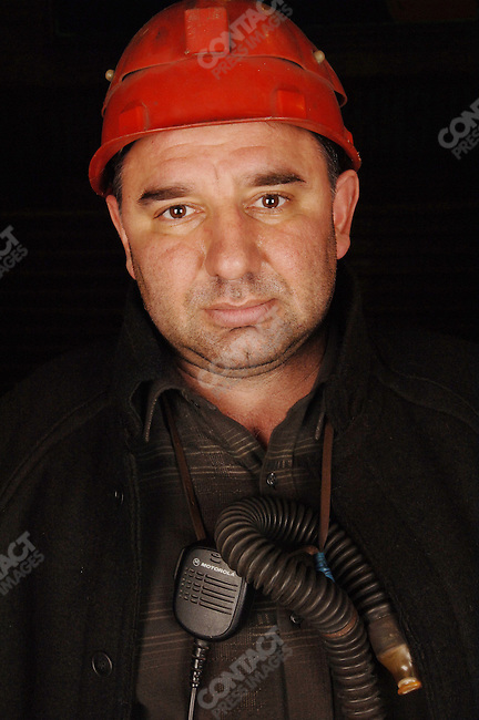 A worker in the smelting section of the copper factory of the company Norilsk Nickel in the city of Norilsk, a vital metallurgical industrial city in Russia's Artic north. June 15, 2007
