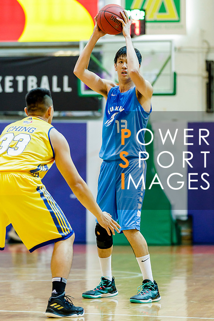 Lau Hoi To #13 of Fukien Basketball Team handles the ball during the Hong Kong Basketball League game between Winling and Fukien at Southorn Stadium on May 29, 2018 in Hong Kong. Photo by Yu Chun Christopher Wong / Power Sport Images