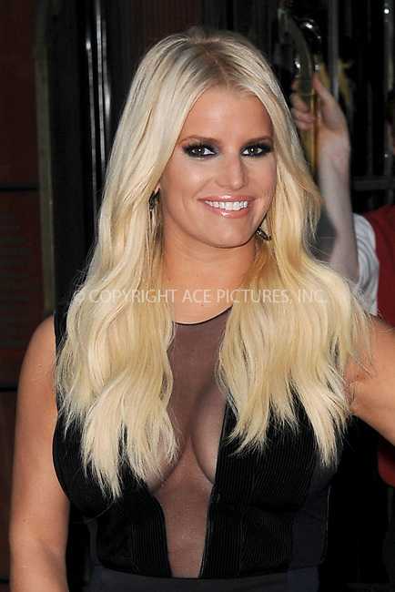 WWW.ACEPIXS.COM<br /> September 9, 2015 New York City<br /> <br /> Jessica Simpson was seen leaving her downtown hotel on September 9, 2015 in New York City.<br /> <br /> Credit: Kristin Callahan/AcePictures<br /> <br /> <br /> Tel: (646) 769 0430<br /> e-mail: info@acepixs.com<br /> web: http://www.acepixs.com