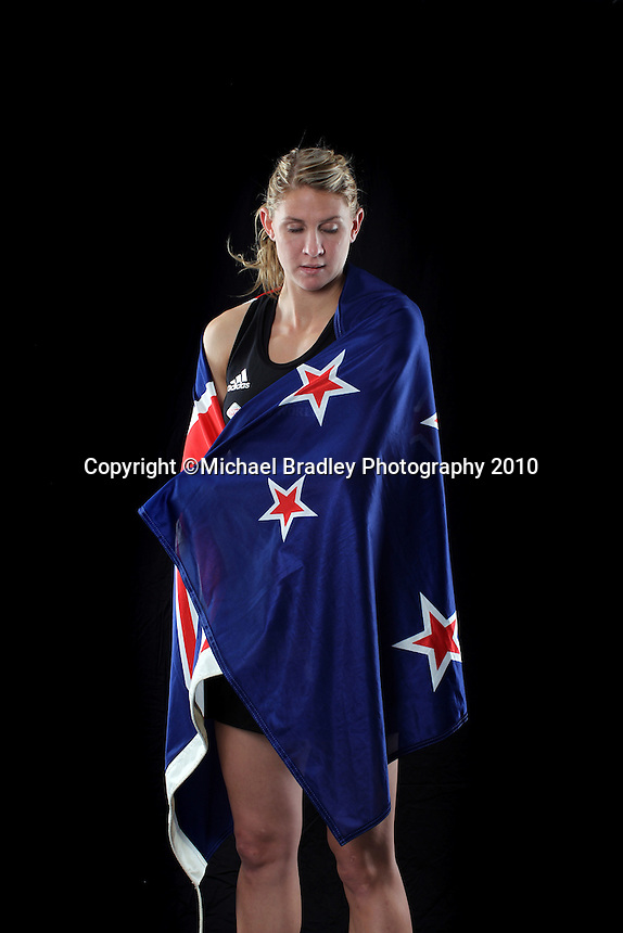 23.07.2010 Silver Ferns captain Casey Willaims in Auckland New Zealand. Mandatory Photo Credit ©Michael Bradley.