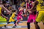 Anthony DiLEO (#11 Telekom Baskets Bonn) \Jordan CRAWFORD (#1 MHP Riesen Ludwigsburg) \ beim Spiel in der Basketball Bundesliga, MHP Riesen Ludwigsburg - Telekom Baskets Bonn.<br /> <br /> Foto &copy; PIX-Sportfotos *** Foto ist honorarpflichtig! *** Auf Anfrage in hoeherer Qualitaet/Aufloesung. Belegexemplar erbeten. Veroeffentlichung ausschliesslich fuer journalistisch-publizistische Zwecke. For editorial use only.