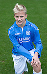 St Johnstone FC Academy U17's<br /> Ally McCann<br /> Picture by Graeme Hart.<br /> Copyright Perthshire Picture Agency<br /> Tel: 01738 623350  Mobile: 07990 594431