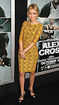 HOLLYWOOD, CA - OCTOBER 15: Christian Serratos arrives at the Los Angeles premiere of 'Alex Cross' at the ArcLight Cinemas Cinerama Dome on October 15, 2012 in Hollywood, California.