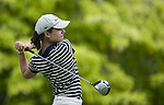 SINGAPORE - MARCH 05:  Lorena Ochoa of Mexico plays her tee shot on the par four 6th hole during the first round of HSBC Women's Champions at the Tanah Merah Country Club on March 5, 2009 in Singapore. Photo by Victor Fraile / The Power of Sport Images
