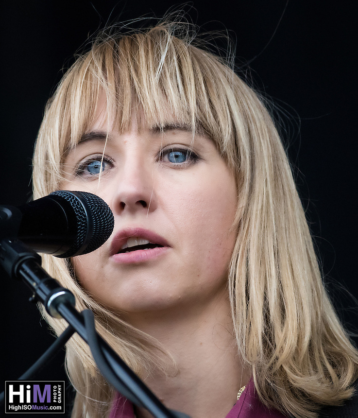 The Joy Formidable at Voodoo Fest 2015.