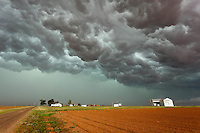 Stormy sky in Levelland, TX