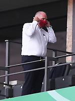 Ehrenpraesident Uli Hoeness (FC Bayern Muenchen<br /> <br /> Fussball, Herren, Saison 2019/2020, 77. Finale um den DFB-Pokal in Berlin, Bayer 04 Leverkusen - FC Bayern München, 04.07. 2020, Foto: Matthias Koch/POOL/Marc Schueler/Sportpics.de