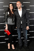 Gonzalo Miro and Ana Isabel Medinabeitia attends the Emporio Armani Boutique opening at Serrano street in Madrid, Spain. April 08, 2013. (ALTERPHOTOS/Caro Marin) /NortePhoto