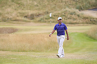 Pablo Larrazabal (ESP) on the 8th during Round 3 of the Dubai Duty Free Irish Open at Ballyliffin Golf Club, Donegal on Saturday 7th July 2018.<br /> Picture:  Thos Caffrey / Golffile