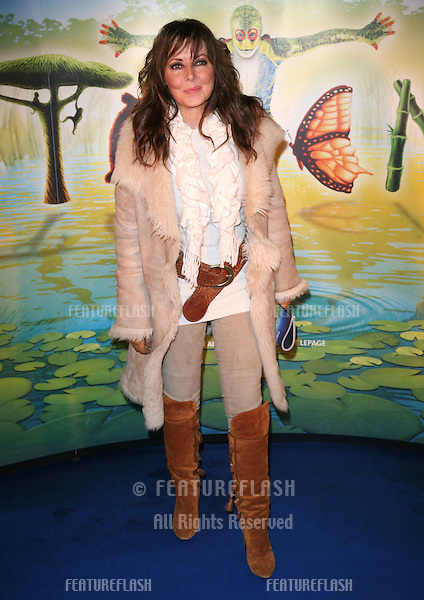 Carol Vorderman arriving for the gala premiere of Cirque Du Soleil's 'Totem' , at the Royal Albert Hall, London. 05/01/2011. Picture by: Alexandra Glen / Featureflash