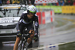 Jaco Venter (RSA) Team Dimension Data in action during Stage 1, a 14km individual time trial around Dusseldorf, of the 104th edition of the Tour de France 2017, Dusseldorf, Germany. 1st July 2017.<br /> Picture: Eoin Clarke | Cyclefile<br /> <br /> <br /> All photos usage must carry mandatory copyright credit (&copy; Cyclefile | Eoin Clarke)