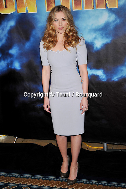 Scarlett Johansson _34   -<br /> IRON MAN 2 Photo Call at the Four Seasons Hotel In Los Angeles.