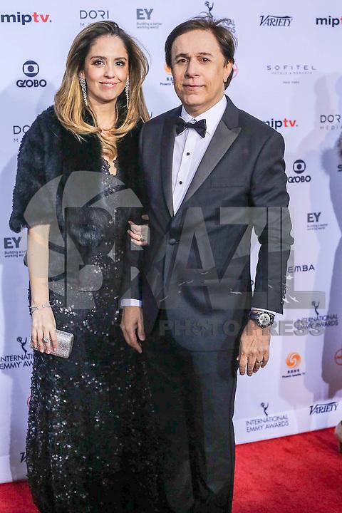 NEW YORK, NY 21.11.2016 - EMMY-2016 - Tom Cavalcanti durante tapete vermelho do Emmy Internacional 2016 prêmio dos melhores atores e novelas da TV, em Nova York, nos Estados Unidos na noite desta segunda-feira, 21. (Foto: Vanessa Carvalho/Brazil Photo Press)
