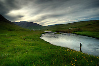 Svarta River, North East Iceland