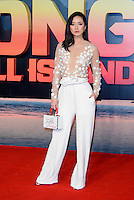 www.acepixs.com<br /> <br /> February 28 2017, London<br /> <br /> Betty Bachz arriving at the European premiere Of 'Kong: Skull Island' on February 28, 2017 in London<br /> <br /> By Line: Famous/ACE Pictures<br /> <br /> <br /> ACE Pictures Inc<br /> Tel: 6467670430<br /> Email: info@acepixs.com<br /> www.acepixs.com