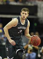 Washington, DC - March 11, 2018: Davidson Wildcats guard Jon Axel Gudmundsson (3) in action during the Atlantic 10 championship game between Rhode Island and Davidson at  Capital One Arena in Washington, DC.   (Photo by Elliott Brown/Media Images International)