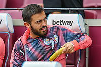 Bernardo Silva of Manchester City during the Premier League match between West Ham United and Manchester City at the London Stadium, London, England on 10 August 2019. Photo by David Horn.