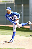 Kelvin Herrera, Kansas City Royals 2010 minor league spring training..Photo by:  Bill Mitchell/Four Seam Images.