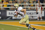 Wofford Terriers running back Will Gay (25) in action during the game between the Wofford Terriers and the Baylor Bears at the Floyd Casey Stadium in Waco, Texas. Baylor defeats Woffard 69 to 3.