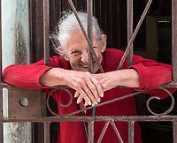 A woman who enjoyed posing, La Habana Vieja