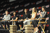 "NEW YORK, NY - OCTOBER 07: Paul Anderson, Eoin Macken,  William Levy, Ali Larter and  Mila Jovovich attends  ""Resident Evil: The Final Chapter"" panel at New York ComiCcon at the Theater in Madison Square Garden on October 7, 2016. Photo by: John Palmer/ MediaPunch"